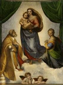 Rafael: Sixtinische Madonna, Dresden