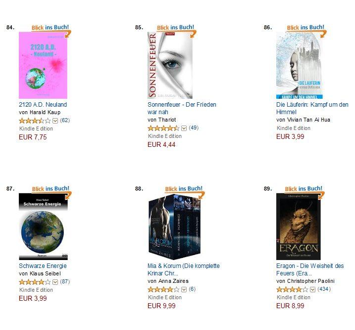 Rang 86 auf Amazon